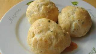 Party Cheese Puffs Recipe - Gougères Recipe