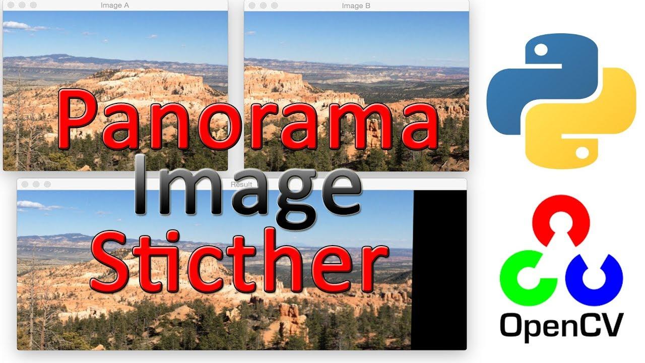 Panorama Image Stitcher (with Python CODE)