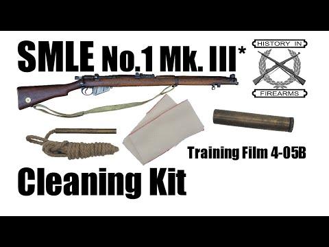 SMLE Mk III* Cleaning Kit (TF 4-05B)