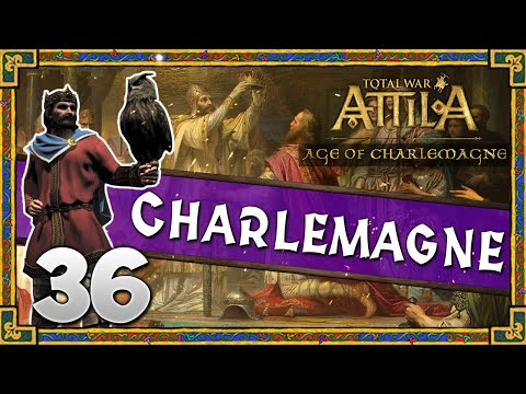 THE HOLY ROMAN EMPIRE! Total War: Attila - Age of Charlemagne - Kingdom of The Franks Campaign #36