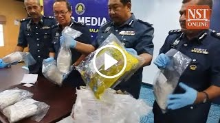 Man caught at Kota Kinabalu airport with RM3 5 million worth of drugs