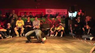 1 vs 1 - BBoy Trash vs BBoy Radzio