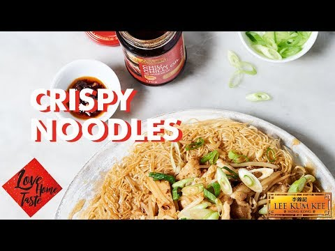 Love Home Taste - Chinese New Year - Ken Hom's Pan Fried Chicken on Crispy Noodles