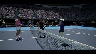 Rafa Nadal vs Hugo Dellien ATP Australian Open 20 AO International Tennis