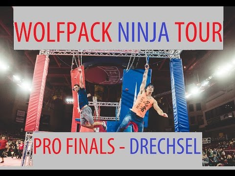 Drew Drechsel Finals Runs at Wolfpack Ninja Tour