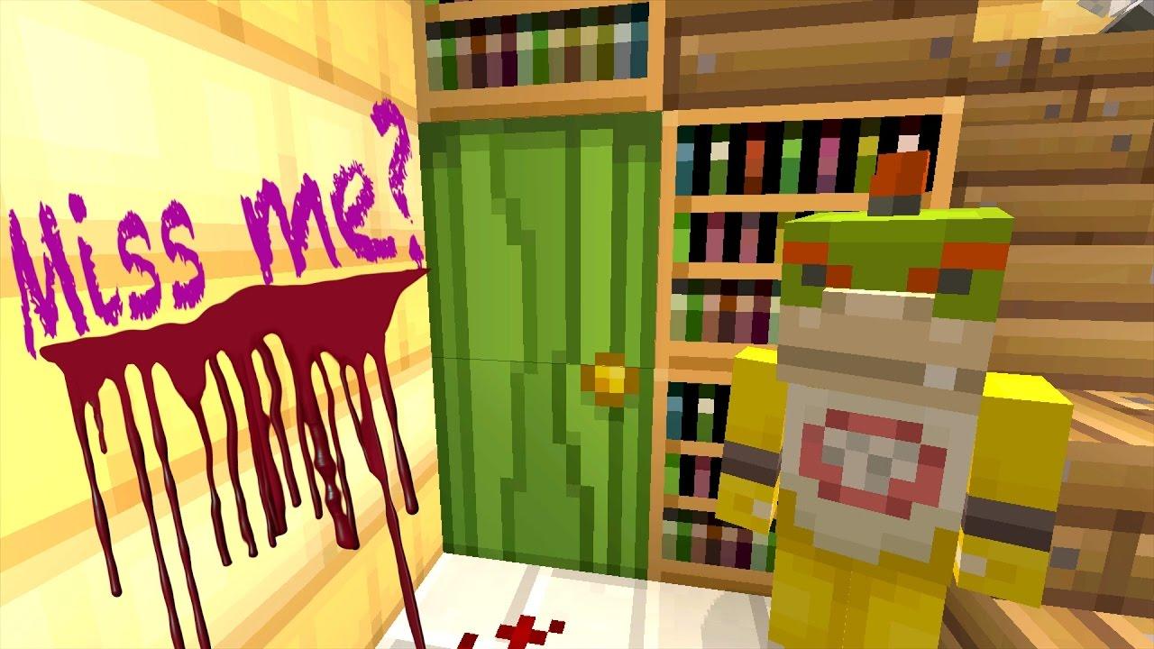 Minecraft Wii U - Nintendo Fun House - THE SECRET DOOR - [77]