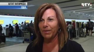 В США пассажиры устроили беспорядки в аэропорту из за задержек и отмен рейсов