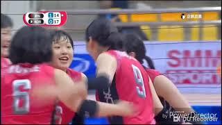 Korea - Japan | 2018 Asian Women's Volleyball Cup | highlight HD