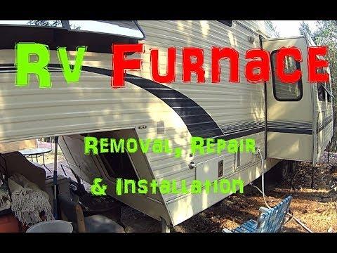 RV Furnace Removal, Repair & Installation (Suburban SF-30 Shown)