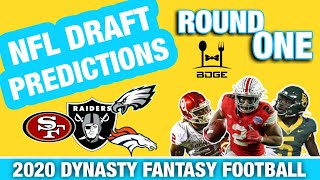 2020 NFL Draft - First Round Predictions for Landing Spots