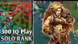 SOLO RANK MASHA | THIS IS HOW YOU PLAY MASHA!! Mobile Legends Bang Bang
