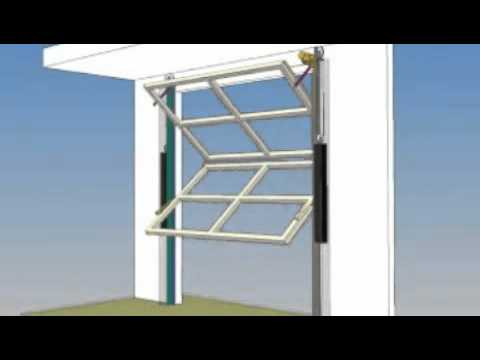 Renlita Doors Series 3000 Foldaway Door Youtube