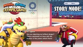 Mario & Sonic at The Olympic Games Tokyo 2020 Story Mode First Impressions!