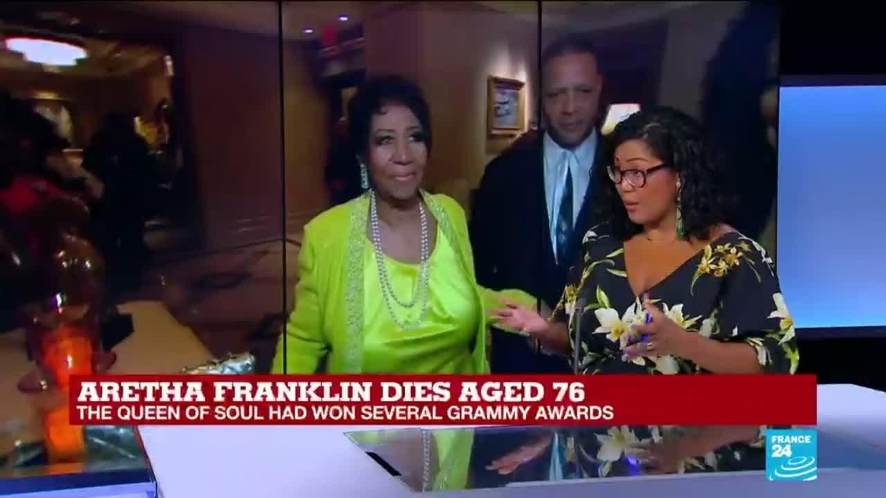 فرانس 24:Aretha Franklin: