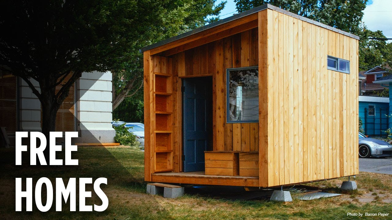 Can Tiny Homes Solve Homelessness In The U S Youtube