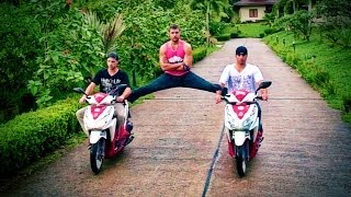 Volvo Trucks Jean Claude Van Damme Epic Splits on Scooters
