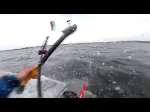 Super Fun 14m Cabrinha FX Session At Jetty Island