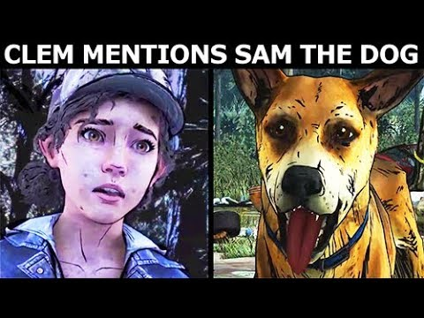 Clementine Mentions Sam The Dog She Met Once - The Walking Dead Final Season 4 Episode 1 |