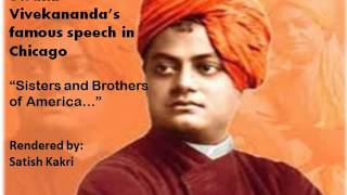 Swami Vivekanand - World Parliament of Religions 1893 Speech