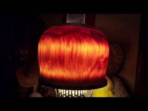 Woodturning a Lamp Shade from a Log