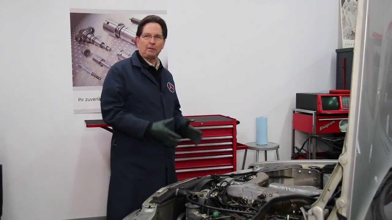 Diagnosing A Broken Mercedes Engine Temp Gauge On Demand Workshop Buick 350 V8 Diagram Video Available Youtube