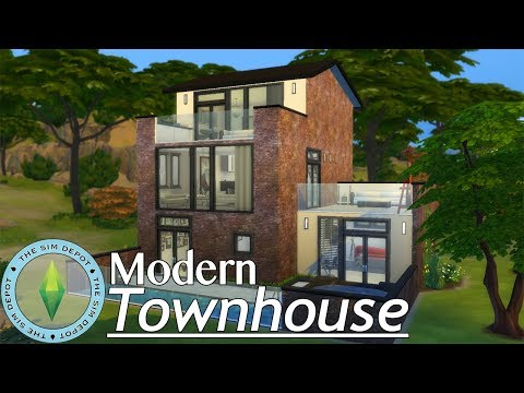 The Sims 4 House Build | Modern Townhouse