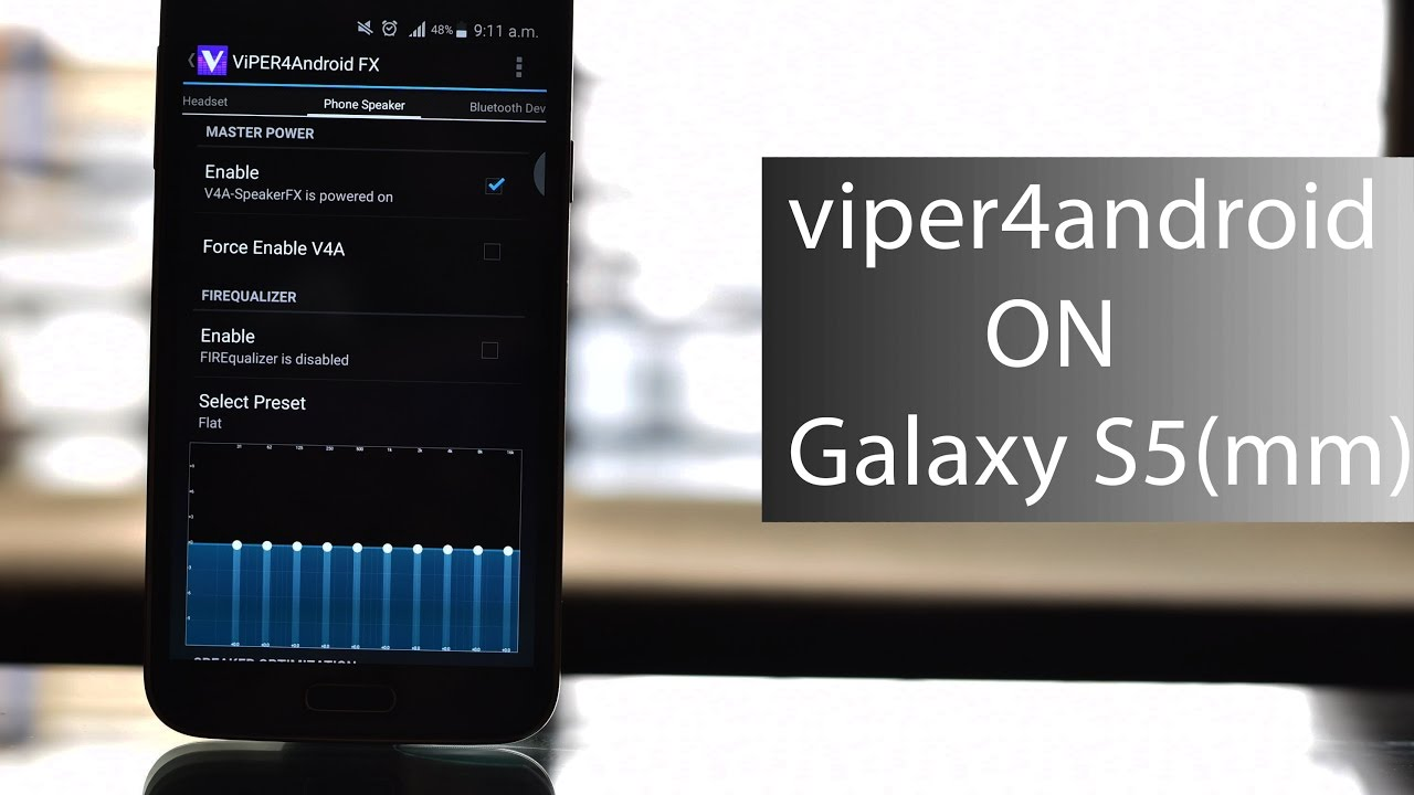 Install viper4android in Galaxy S5 running Marshmallow 6 0 1