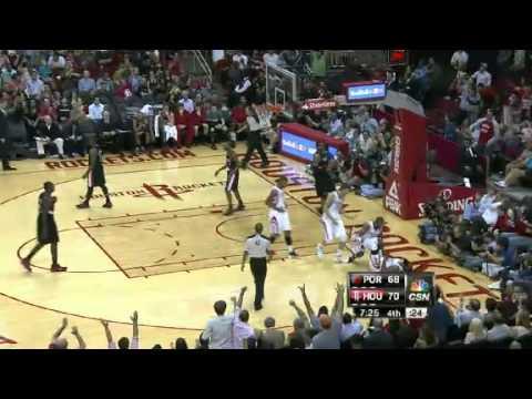 Houston Rockets 85 vs 95 Portland Trail Blazers//full highlights//11-03-2012