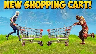 *NEW* SHOPPING CART BEST PLAYS! - Fortnite Funny Fails and WTF Moments! #211 (Daily Moments)