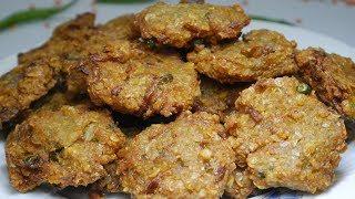 খুবই সাধারণ, মজাদার এবং মচমচে পিঁয়াজু । Simple, Tasty and Crispy Piyaju