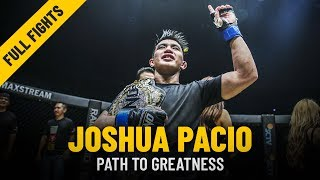 Joshua Pacio's Path To Greatness   ONE: Full Fights & Features