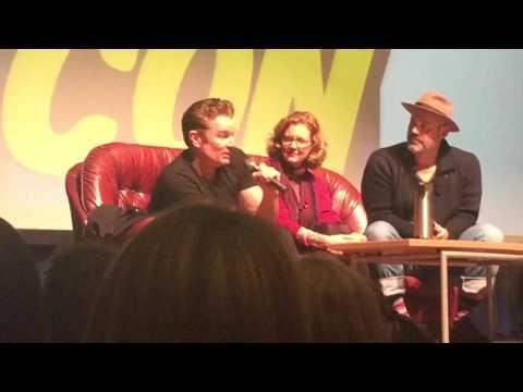 Wales comic con Nov 2016 buffy the vampire slayer Q&A part 1
