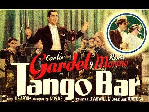 Película TANGO BAR -1935 - Film De Carlos Gardel - Con Rosita Moreno