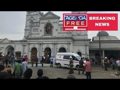 Multiple Explosions Hit Sri Lanka - LIVE BREAKING NEWS COVERAGE