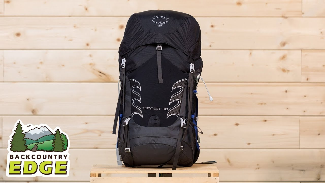 ff6afb2c3 Osprey Tempest 40 Women's Day Pack - YouTube