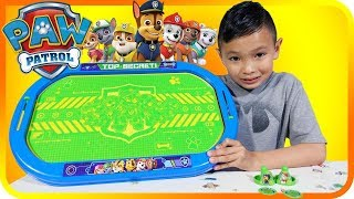 Paw Patrol Air Hockey Table Kids and Family Fun Toy Review - Tiger Box HD