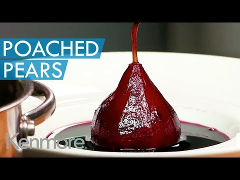 Poached Pears In Red Wine | Kenmore