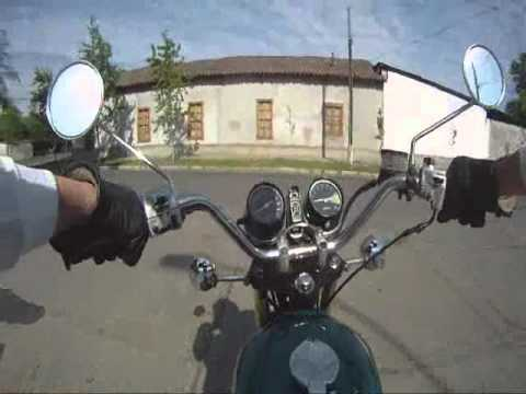Honda CB 360 1974 go pro cam in requinoa chile