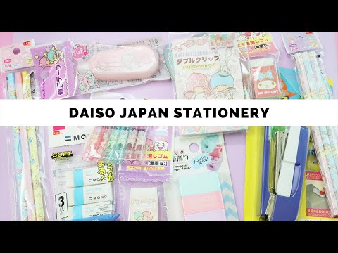 Shopping For Stationery At DAISO Japan!