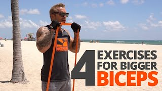BUILD big ARMS anywhere | Resistance Band Training