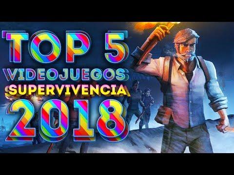 TOP 5 JUEGOS DE SUPERVIVENCIA GRATIS 2018 | POCOS, MEDIOS REQUISITOS