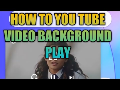 HOW TO YOU TUBE VIDEO BACKGROUND PLAY  MP3 AND VIDEO
