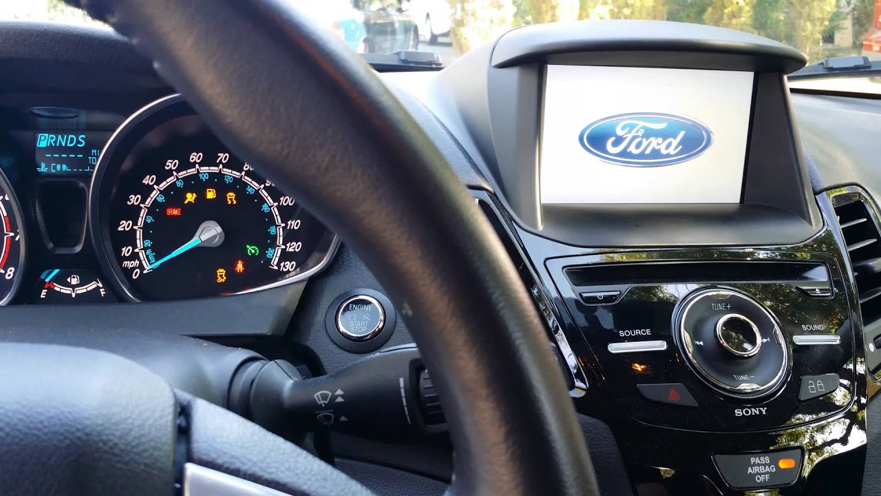 14 Ford Fiesta Titanium Sync W My Ford Touch Dead Youtube