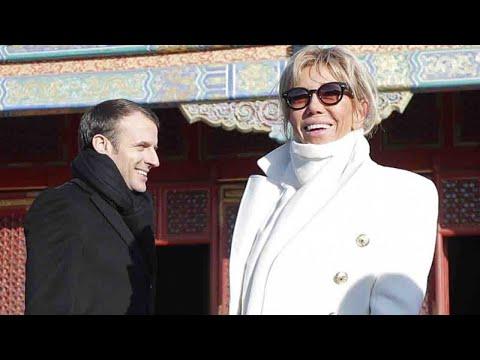En Chine, Brigitte Macron intrigue la presse