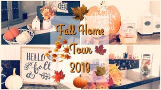 Fall Home Tour 2018 | Fall Decor  🍁