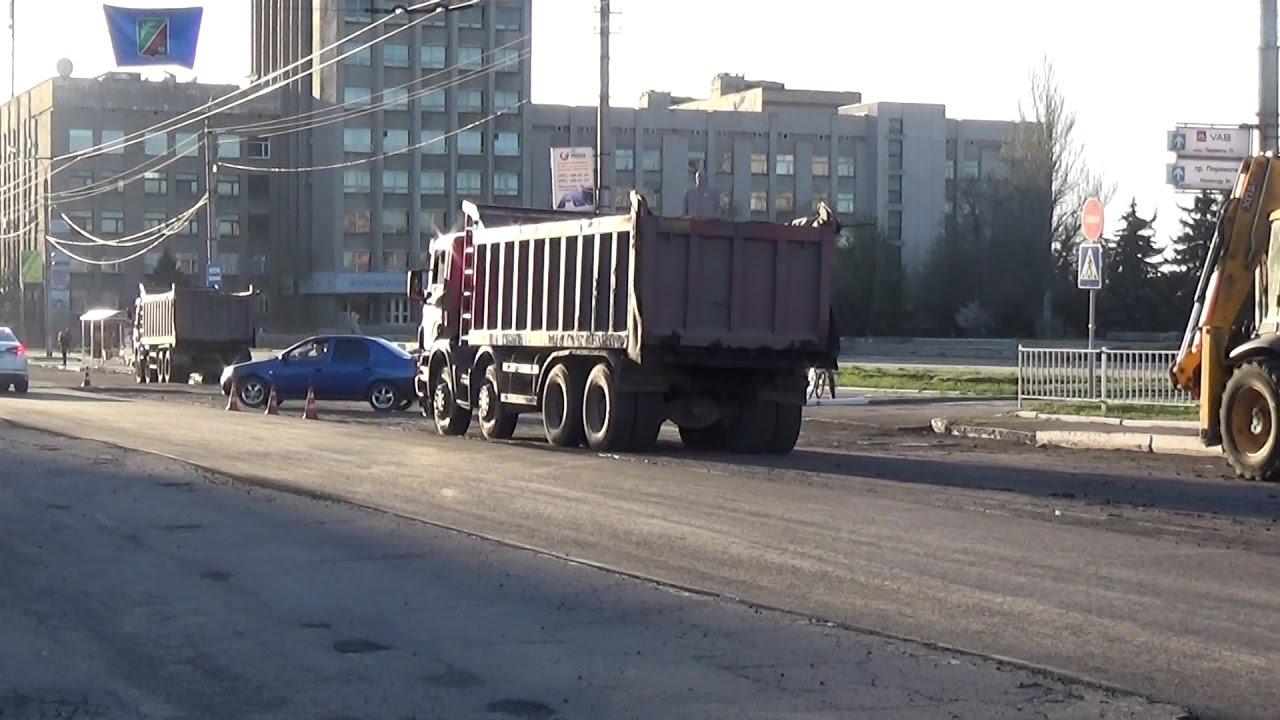 Горловка начала капитальный ремонт дорог