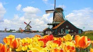 Ветряные мельницы Амстердама(Ветряные мельницы Амстердама - Примерно в 1740 году для осушения польдеров была построена система из 19-ти..., 2014-03-21T13:38:45.000Z)