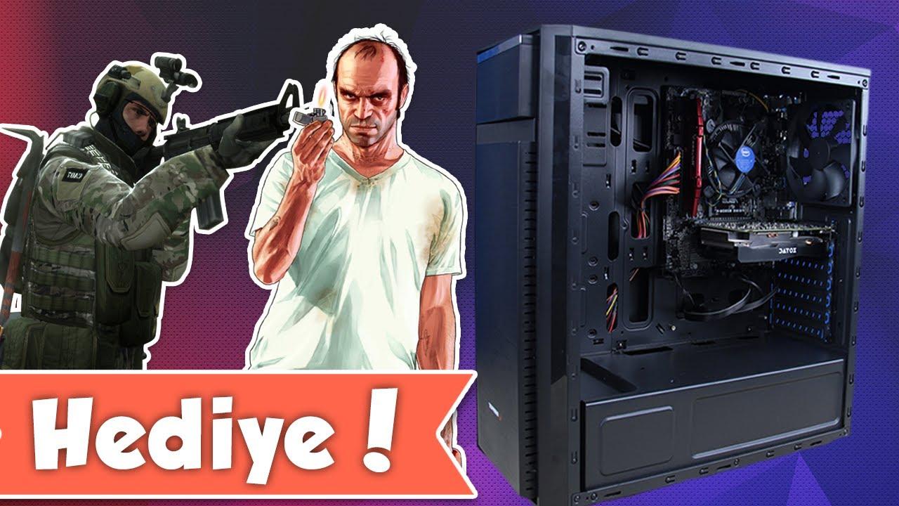 Tak-Çalıştır Oyuncu Bilgisayarı Hediyeli Video: 3.000 TL'lik Sistemi Test Ettik!