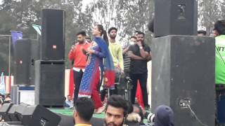 Sunanda Sharma Live in YFC Club Rurkan Kalan