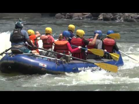 White Water Rafting The Zambezi River - Rapids 1-10